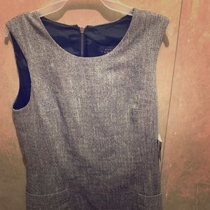 Pink tartan NWT wool blend dress